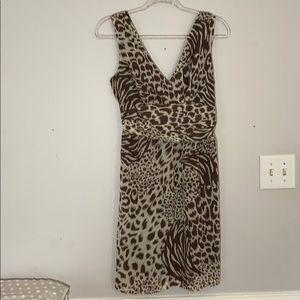Mlle Gabrielle spring dress. Sz M zebra print.